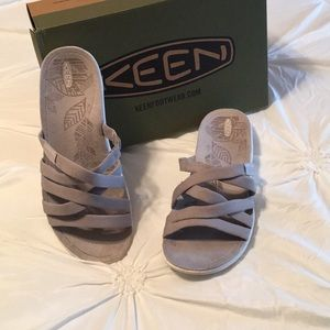 Keen Damaya slide Vapor blue size 9